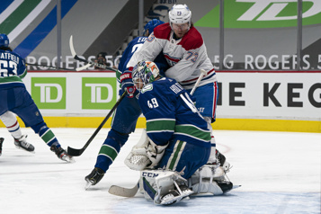 Pointage final Canadien 5 — Canucks 6)