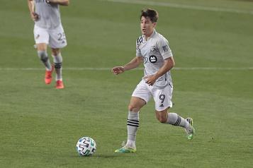 Impact de Montréal Bojan Krkic est le joueur de la semaine dans la MLS)