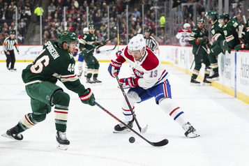 Canadien 2 - Wild 1 (2e entracte)