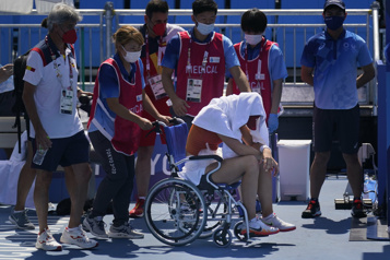 Tennis Les matchs du tournoi olympique repoussés à partir de jeudi)