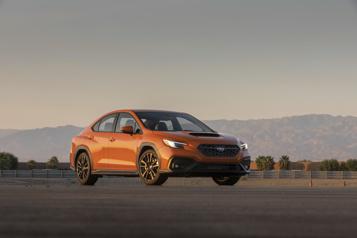 Subaru WRX2022 : nouvelle plateforme, nouveau moteur, même mandat)