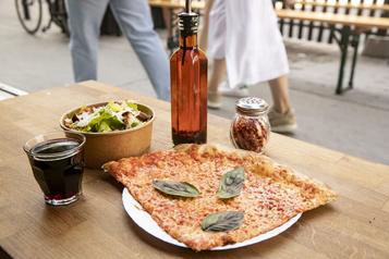 La Main Folle, nouveau snack-bar à l'italienne duPlateau)
