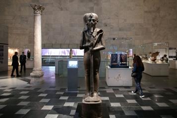 Le Musée national de la civilisation égyptienne ouvert au public)