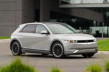 Hyundai La version nord-américaine de l'Ioniq5 pourra parcourir jusqu'à 480km)