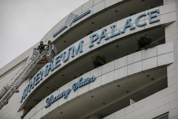 Au moins trois blessés dans l'incendie d'un hôtel à Athènes