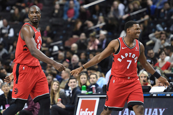 Les Raptors gagnent 123-107 à Brooklyn