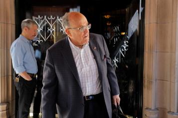 Déclarations mensongères L'avocat Rudy Giuliani suspendu par la Cour suprême de New York)
