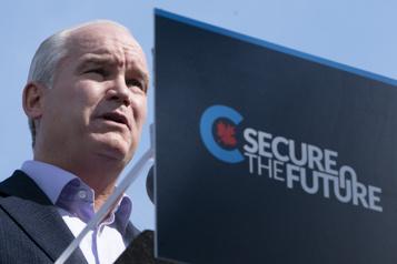 O'Toole réitère son appui à GNL Québec et s'attaque aux bloquistes )