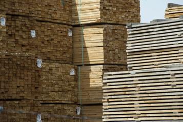Les prix du bois d'?uvre profitent à Résolu)