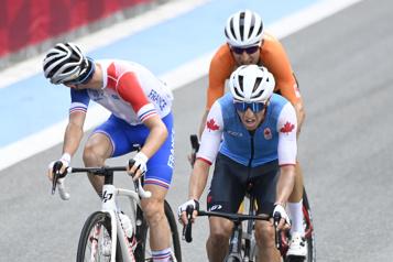 Cyclisme sur route Michael Woods parmi les grands à l'ombre du mont Fuji)
