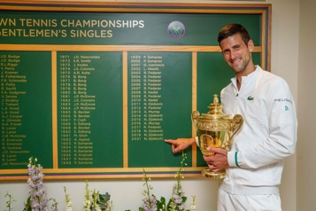 Classement de l'ATP Djokovic plus que jamais numéro 1, Auger-Aliassime 15e)