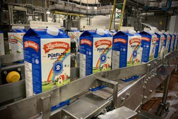 Du lait pour les banques alimentaires)