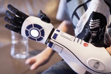 Comme Luke Skywalker, une main bionique pour surmonter les défis