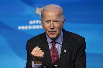 Joe Biden Centjours pour asseoir une présidence)