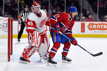 Red Wings 2 — Canadien 0 (3e période)