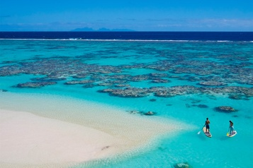 Effondrement du tourisme: l'économie de la Polynésie française menacée)
