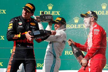 F1: le tableau d'honneur à la mi-saison