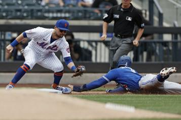 Les BlueJays défaits5-4 par les Mets)