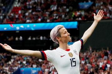 Megan Rapinoe soutient Elizabeth Warren