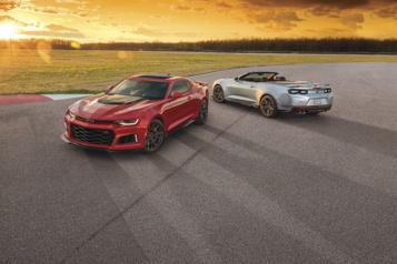 Chevrolet La Camaro pourrait devenir une berline électrique)