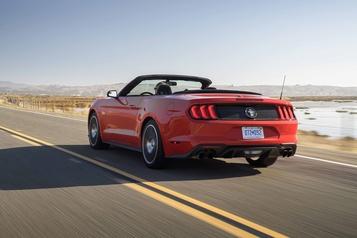 Les rivales de la Mustang cabriolet)