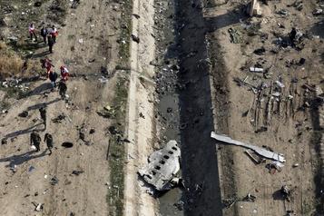 Boeing abattu en Iran: les boîtes noires pourraient être envoyées en France