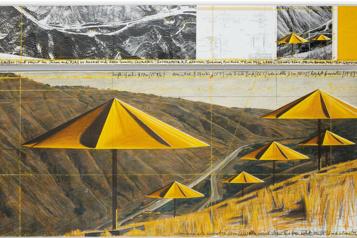 La collection personnelle de Christo s'envole aux enchères)