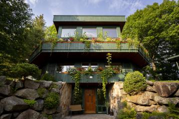 Le tour du propriétaire La maison sous les chênes )