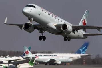 Air Canada annule 16500mises à pied, WestJet6400