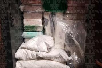 Saisie de cocaïne et de crystal meth  Un accusé au dessus de tout soupçon )
