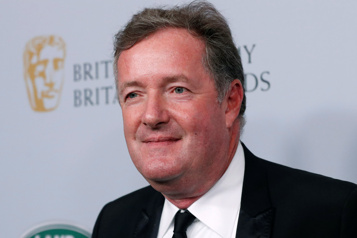 Le journaliste Piers Morgan revient à la télé)