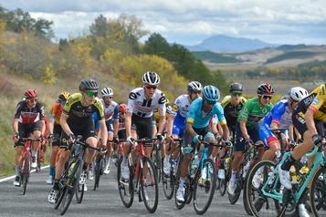 Tour d'Espagne Dan Martin remporte la troisième étape)
