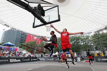 Le basketball3x3 se donne en spectacle)
