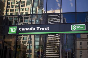Groupe Banque TD: les profits fondent de 52%)