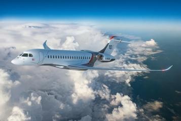 Bombardier ne craint pas trop leFalcon10X)