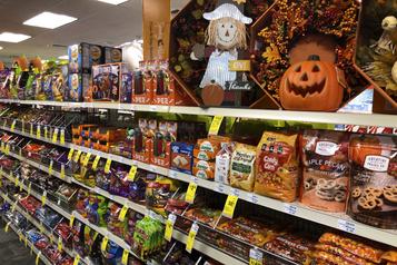 Une Halloween incertaine pourrait effrayer les acheteurs de bonbons)