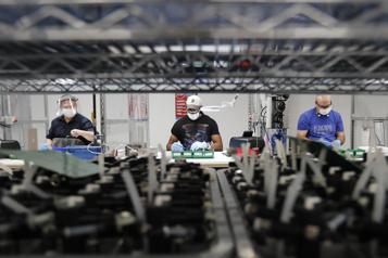 États-Unis La production industrielle au plus haut en 5mois en décembre)
