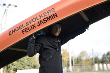 Le Grand Portage «18jours d'amour» pour Félix Jasmin