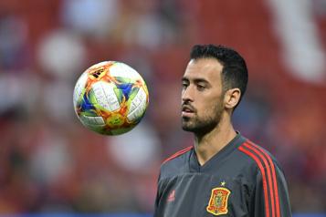 Euro2020 L'Espagne privée de son capitaine Sergio Busquets, positif à la COVID-19)