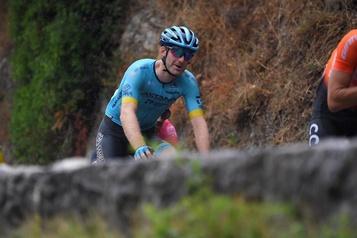 Tour de France Hugo Houle: «La bagarre n'est pas finie» )