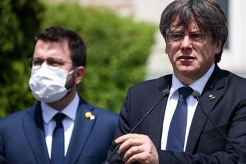 Espagne Carles Puigdemont juge insuffisante la grâce des indépendantistes catalans)