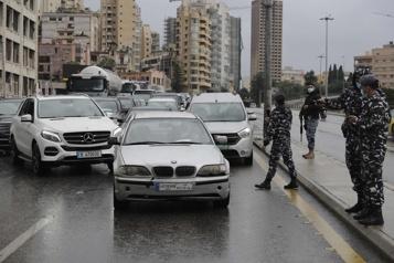 Liban Début d'un confinement strict pour endiguer une flambée de la COVID-19)