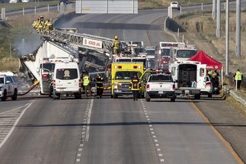 Carambolage mortel sur l'autoroute440: un camionneur arrêté)