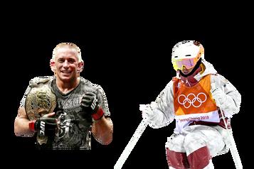 L'athlète québécois deladécennie: Georges St-Pierre c.MikaëlKingsbury