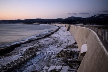 Japon Les murs anti-tsunami, héritage de la catastrophe de 2011)