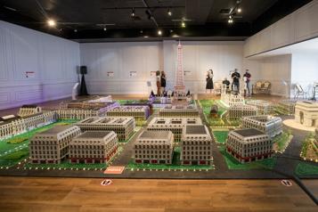 Paris Mini Paris en blocs au Musée Grévin)