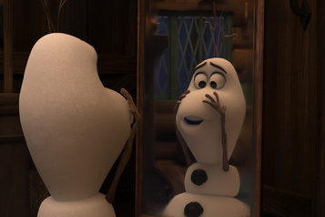 Once Upon a Snowman Les origines d'Olaf)