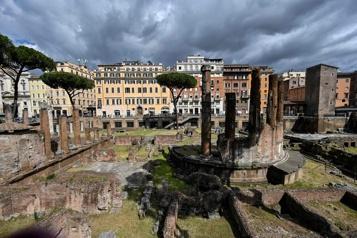 Rome Le lieu de l'assassinat de Jules César ouvrira au public en 2022)