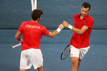Tennis en double Nikola Mektic et Mate Pavic champions olympiques en doubles messieurs)