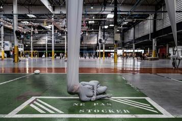 Des œuvres in situ d'artistes du monde entier à la Biennale de Lyon